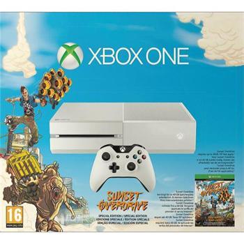 Xbox One 500GB, white (Sunset Overdrive Special Edition) - Použitý tovar, zmluvná záruka 12 mesiacov