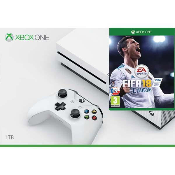 xbox one s 1tb fifa 18 cz. Black Bedroom Furniture Sets. Home Design Ideas