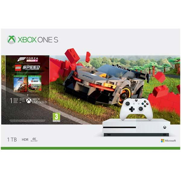 Xbox One S 1TB + Forza Horizon 4 CZ + Forza Horizon 4: LEGO Speed Champions