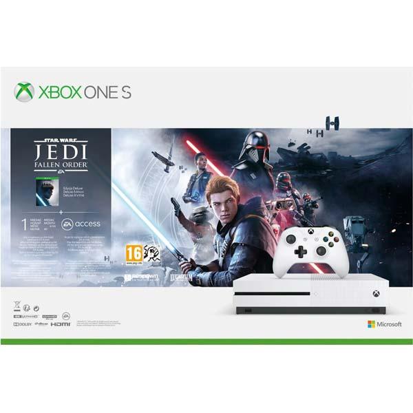 Xbox One S 1TB + Star Wars Jedi: Fallen Order (Deluxe Edition)