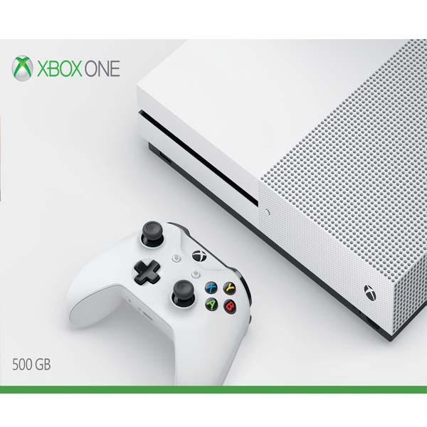 Xbox One S 500gb - BAZÁR (použitý tovar , zmluvná záruka 12 mesiacov)