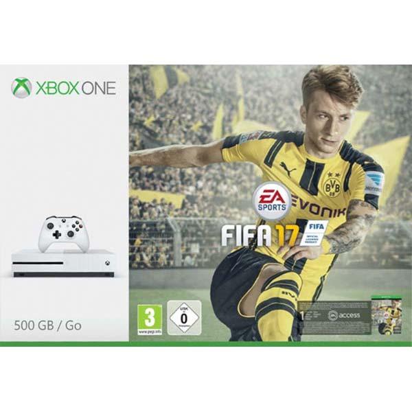 Xbox One S 500GB + FIFA 17 CZ
