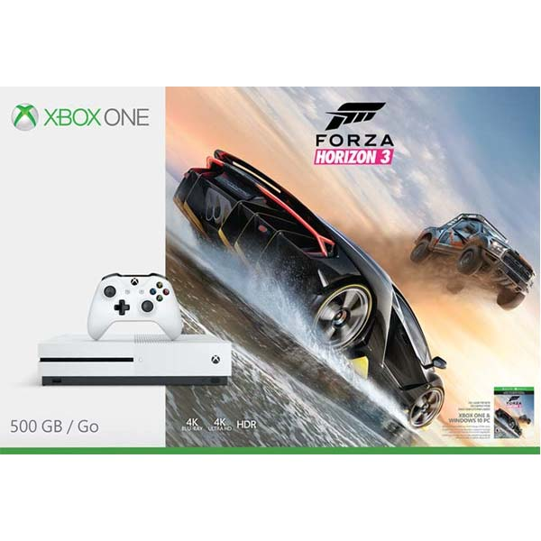 Xbox One Forza Horizon 3 : Xbox one s gb forza horizon