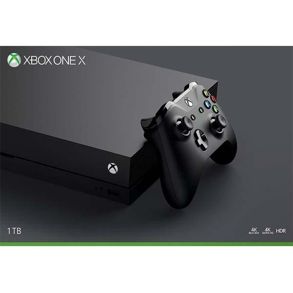 Xbox One X 1TB - BAZÁR (použitý tovar , zmluvná záruka 12 mesiacov)