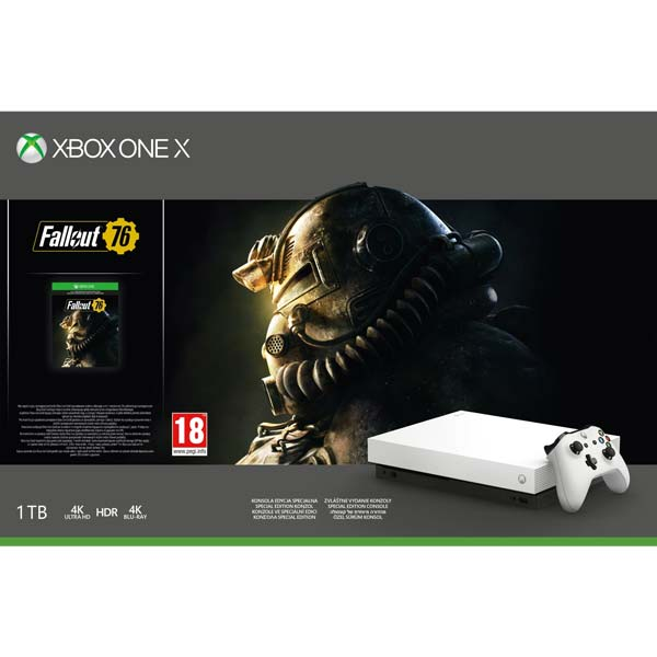 Xbox One X 1TB + Fallout 76 (Special Edition) FMP-00057
