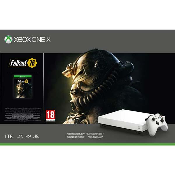 Xbox One X 1TB Robot White Special Edition - BAZÁR (použitý tovar , zmluvná záruka 12 mesiacov)