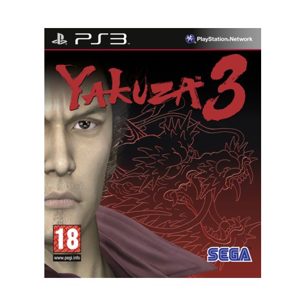 Yakuza 3 [PS3] - BAZÁR (použitý tovar)
