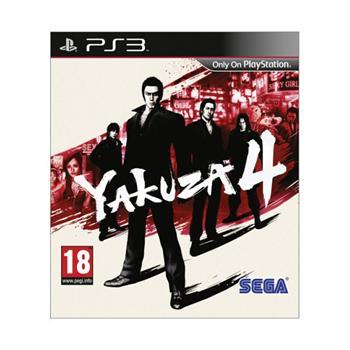 Yakuza 4 [PS3] - BAZÁR (použitý tovar)