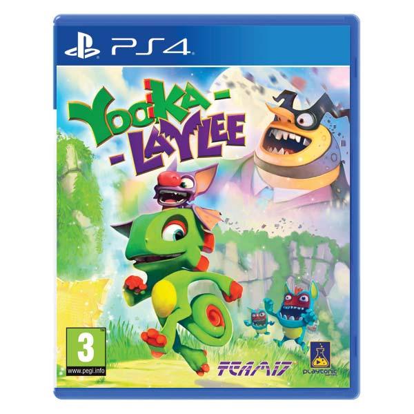 Yooka-Laylee [PS4] - BAZÁR (použitý tovar)