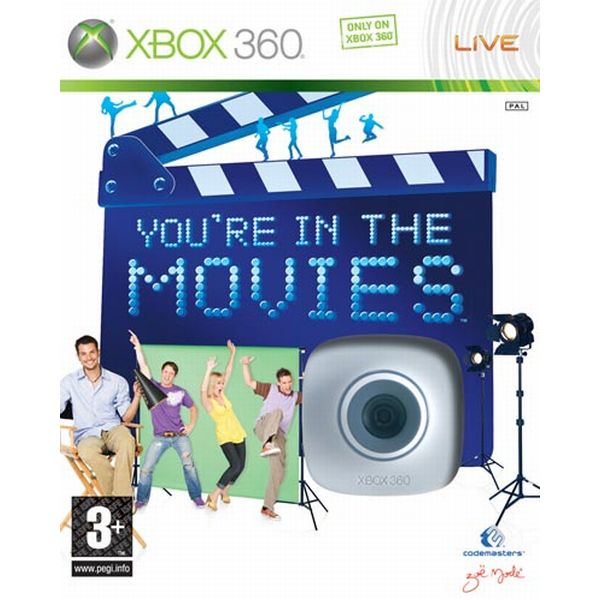 You're in the Movies + LIVE Vision XBOX 360