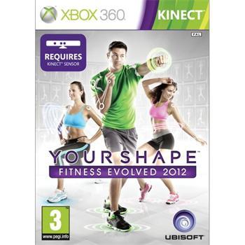 Your Shape: Fitness Evolved 2012- XBOX 360- BAZÁR (použitý tovar)