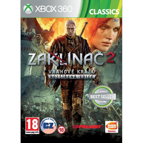 Zaklínač 2: Vrahovia kráľov CZ (Rozšírená edícia) XBOX 360