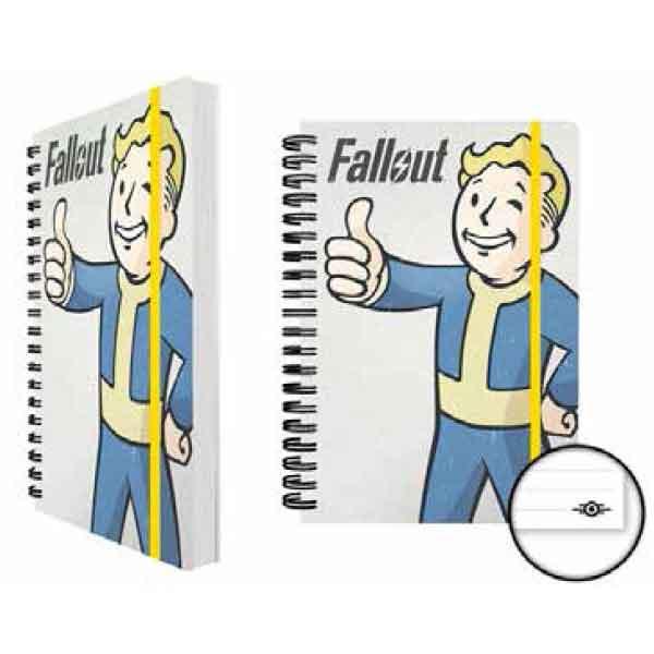 Zápisník Fallout 4 - Vault Boy