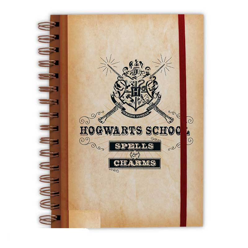 Zápisník Harry Potter - Hogwarts Scool