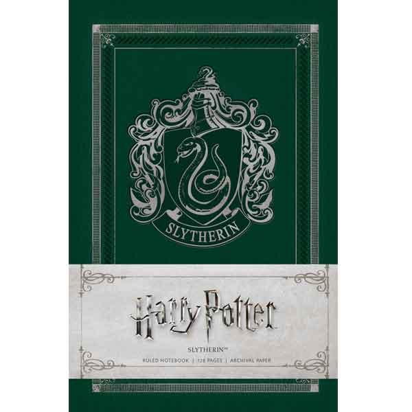 Zápisník Harry Potter Slytherin A6 9781683830320