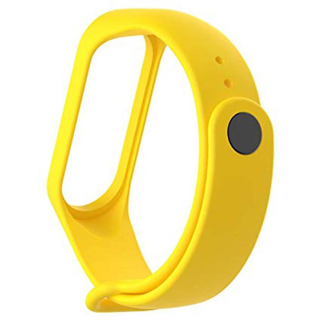 Žltý náramok pre Xiaomi MiBand 3/4