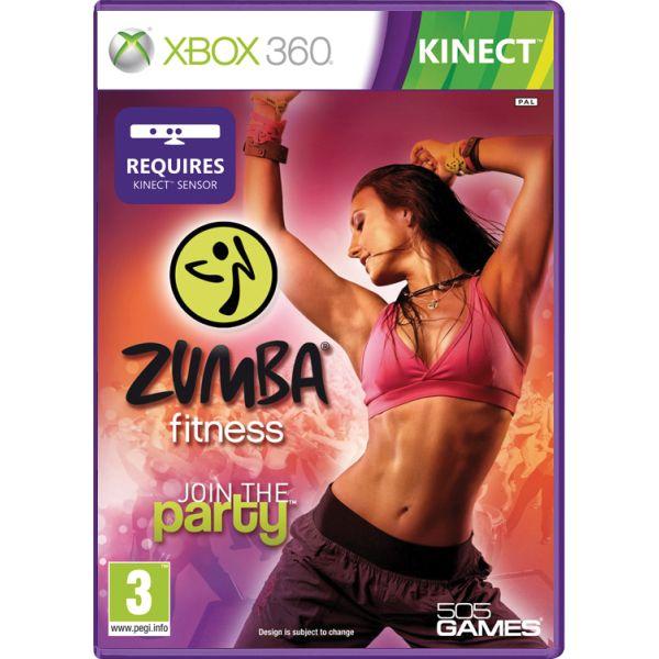 Zumba Fitness: Join the Party [XBOX 360] - BAZÁR (použitý tovar)