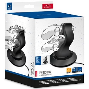 Speed-Link Twindock Charging System for PlayStation 4, black