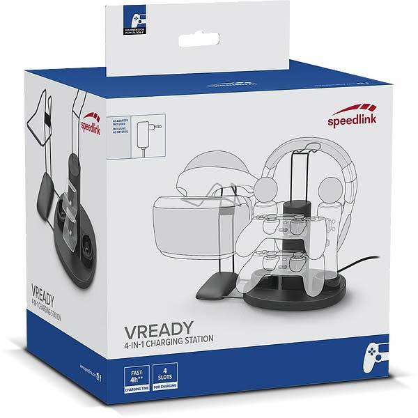 Nabíjacia stanica Speedlink VReady 4-In-1 Charging Station