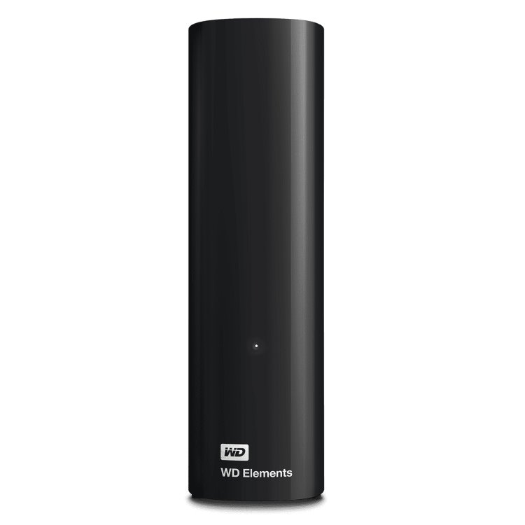 Western Digital HDD Elements Desktop, 14TB, USB 3.0 (WDBWLG0140HBK-EESN)