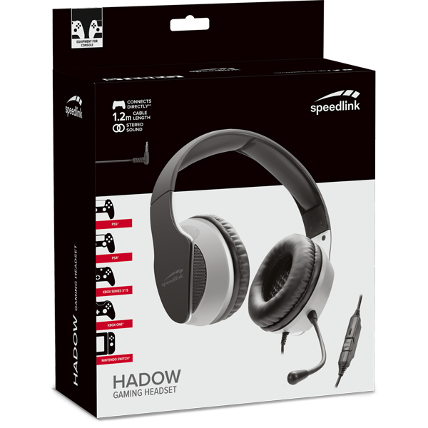 Speedlink Hadow Gaming Headset for PS5/PS4/Xbox Series X a Nintendo Switch, black