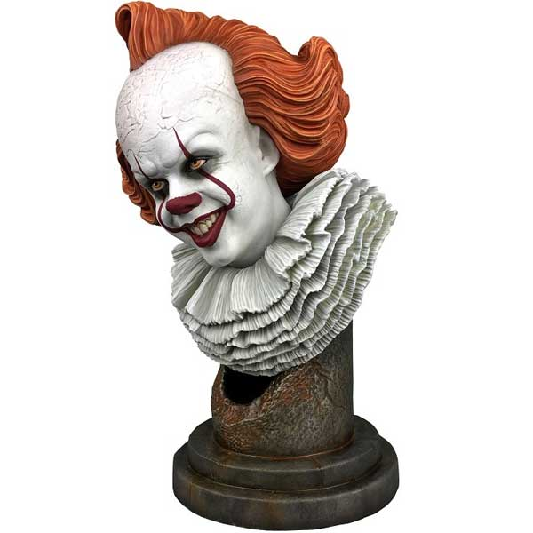 Busta Legends in 3D IT Chapter 2 Pennywise 1/2 Scale Bust
