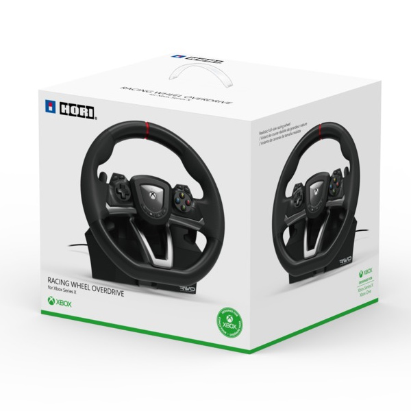 HORI Racing Wheel Overdrive Designed for Xbox Series X | S & Xbox One