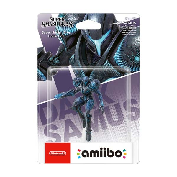 amiibo Dark Samus (Super Smash Bros.)