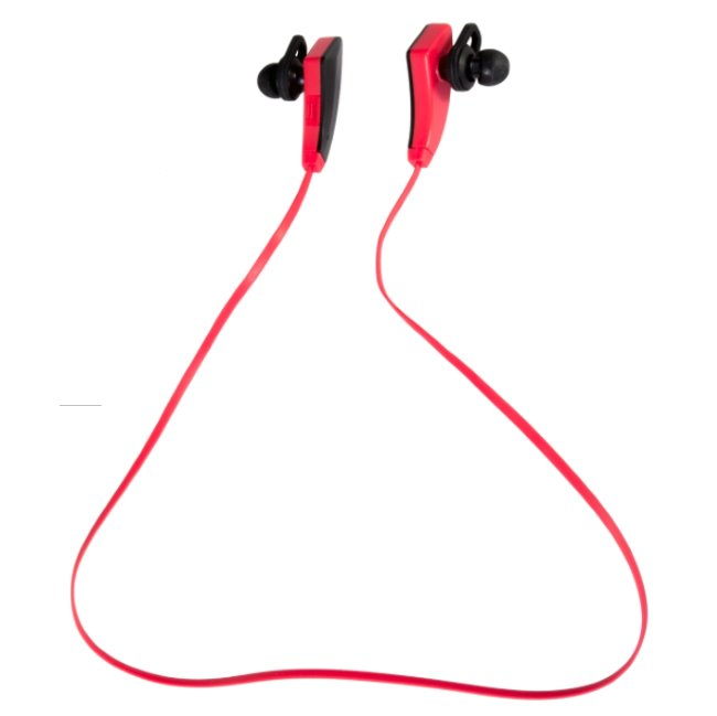 Bluetooth Stereo Headset EVOLVEO SPORTLIFE QH5, Red