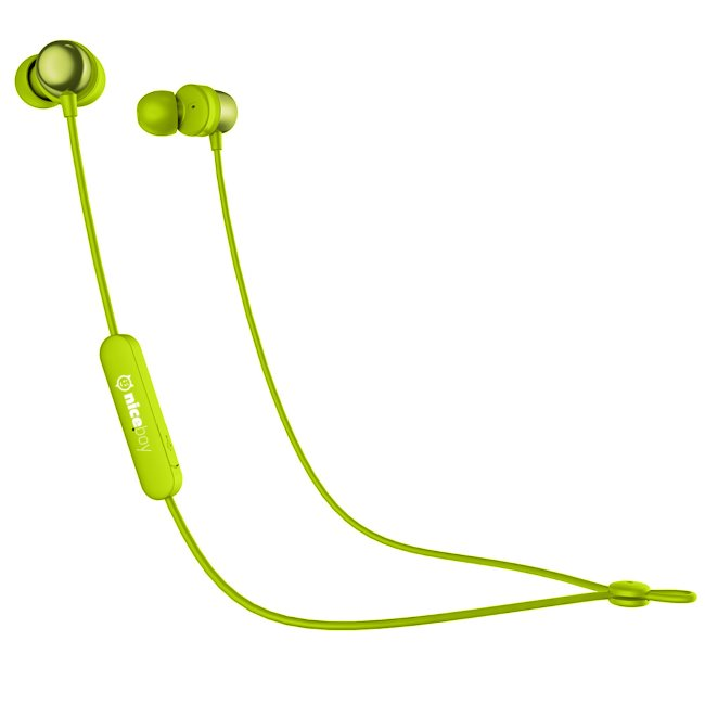 Bluetooth Stereo Headset Niceboy Hive E2, Green