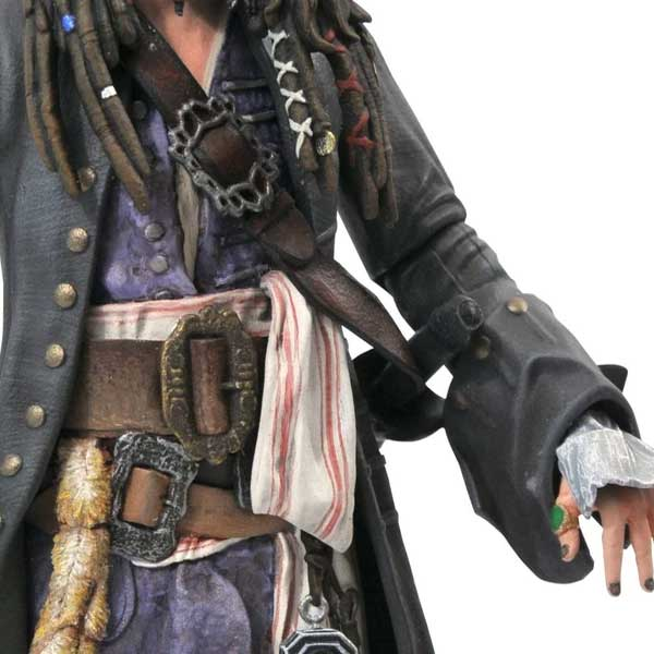 Figúrka Pirates of the Caribbean Deluxe Jack Sparrow Action Figure