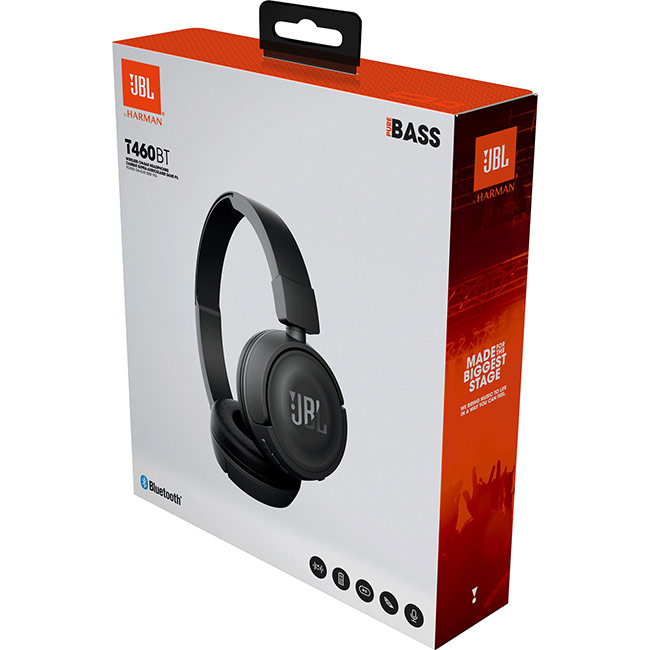 JBL Tune 460BT, black