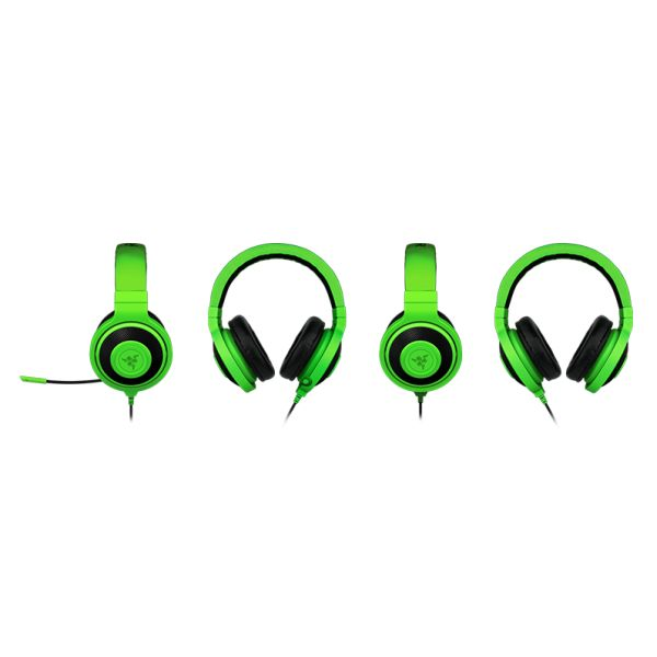 Razer Kraken Pro Analog Gaming Headset, green