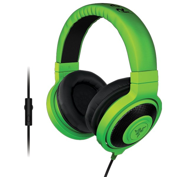 Razer Kraken Pro E-Sports Gaming Headset, green