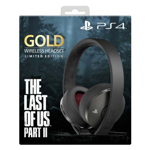 Sony PlayStation Gold Wireless 7.1 Headset, black (The Last of Us: Part II Limited Edition)