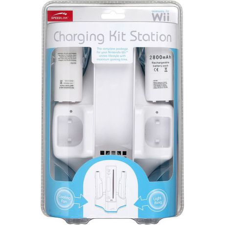 Speed-Link Charging Kit Station for Wii