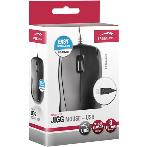 Speed-Link Jigg Mouse USB, black
