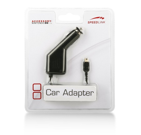 Speed-Link NDS Lite Car Adapter, black
