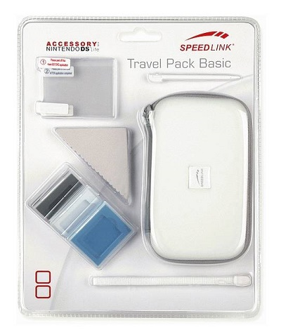 Speed-Link NDS Lite Travel Pack Basic (8in1), white