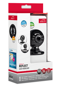 Speed-Link Reflect Led Webcam, black