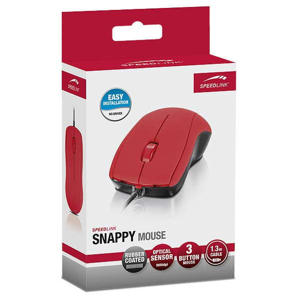Speed-Link Snappy Mouse, red