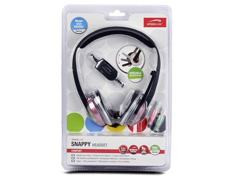 Speed-Link Snappy Stereo Headset, pink