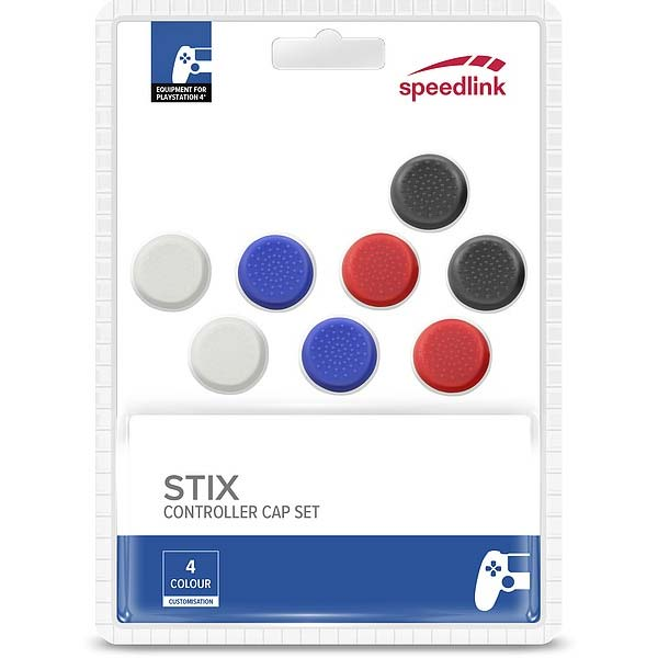 Speed-Link Stix Controller Cap Set for PS4, multicolor