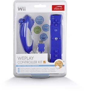 Speed-Link Weplay Controller Kit Plus for Wii, blue