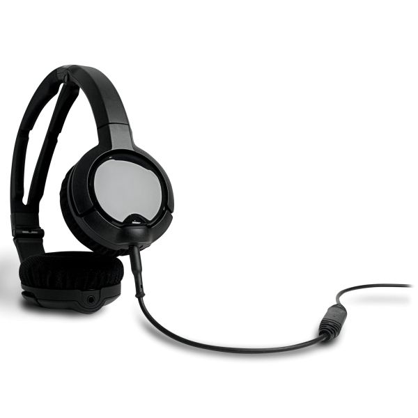 SteelSeries Flux Slim-Profile Headset, black