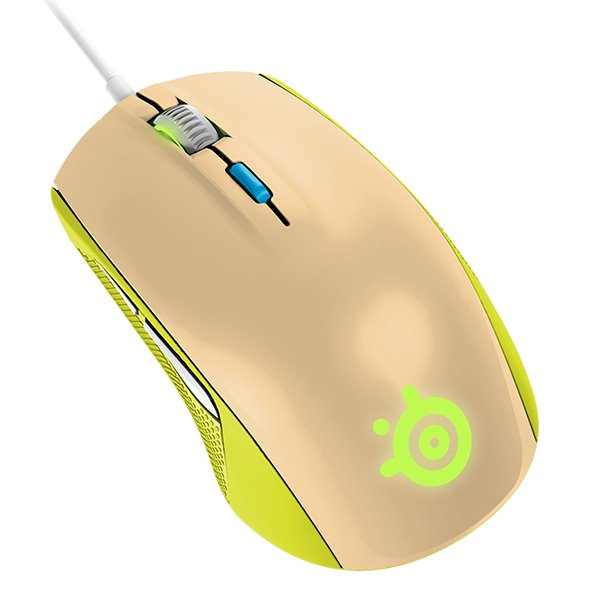 SteelSeries Rival 100, gaia green