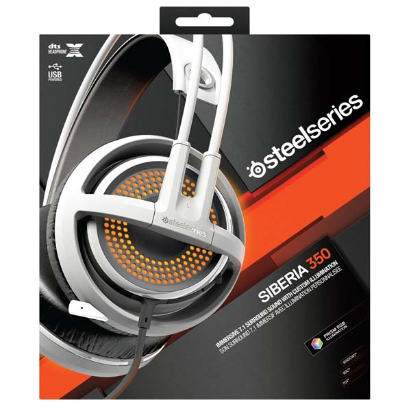 SteelSeries Siberia 350, White