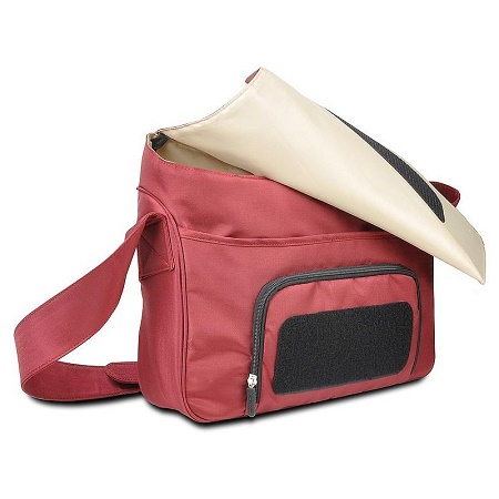 Taška na notebook Speedlink Courier Messenger Bag 16,4'' / 41,6 cm, èervená