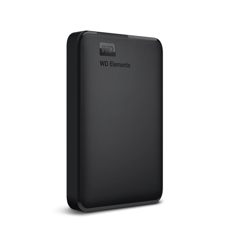 Western Digital HDD Elements Portable, 4TB, USB 3.0 (WDBU6Y0040BBK-WESN)