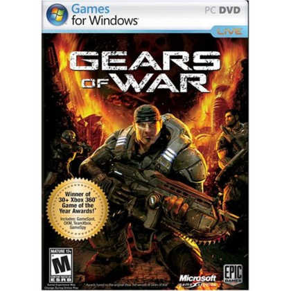 Gears of War CZ (Games for Windows) + plagát